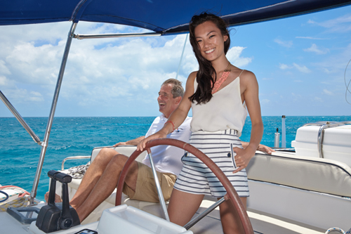 Chinese Concierge Services Aboard Bahamas Catamaran Charters