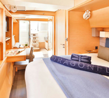 The Dragonfly - Lagoon 620 Catamaran Yacht - Aft Cabin
