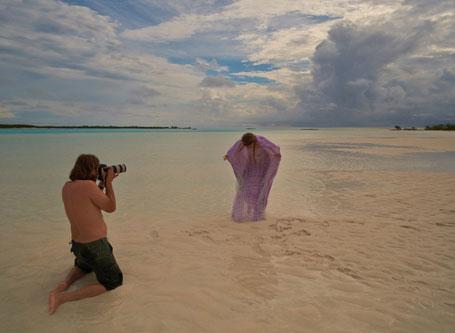 时装拍摄巴哈马
