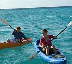 皮划艇在巴哈马