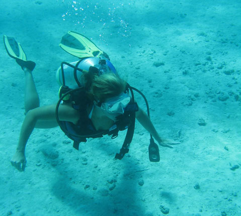 PADI潜水在巴哈马