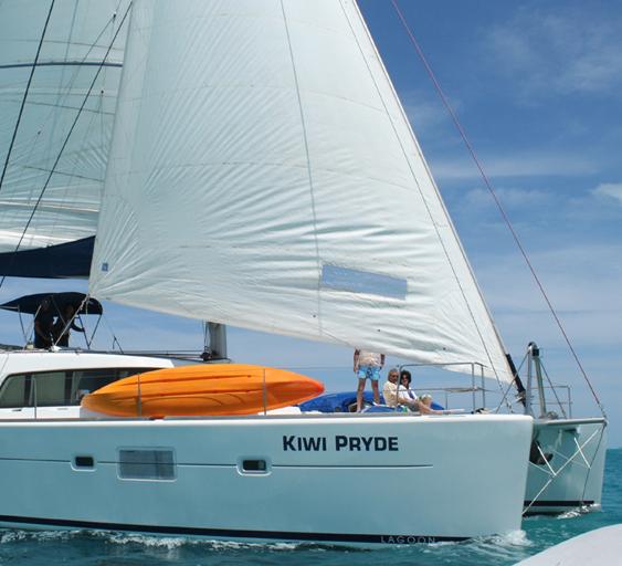 Kiwi Pryde - 51ft Lagoon 500 双体游艇