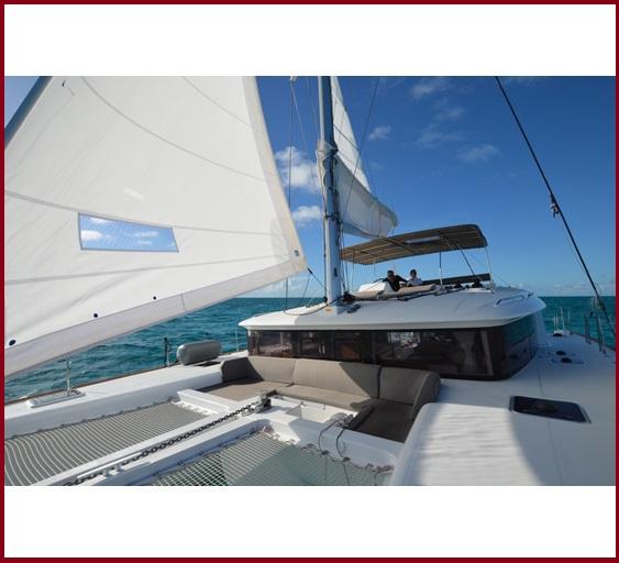 Samoru 2 - 45ft Lagoon 52 Catamaran Sailing Yacht