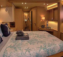 Whispers II Cabin - 56ft Lagoon 560 Catamaran Yacht