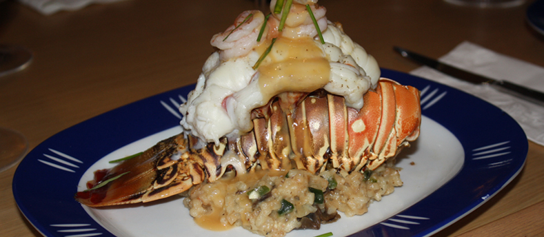 Lobsters Beurre Blanc