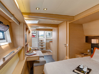 Master Suite On The The Amazing, 620 Lagoon Catamaran Yacht