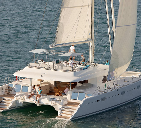 The Amazing - 62ft Lagoon 620 Sailing Catamaran Yacht